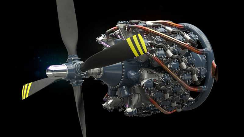 Pratt and Whitney R-4360 Wasp Major